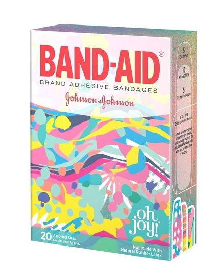 Target: Oh Joy or Cars Band-Aids ONLY $0.23 Per Box