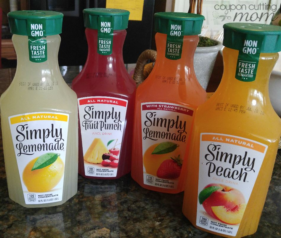Weis: Simply Lemonade or Juice ONLY $0.37 - Regular Price $2.99