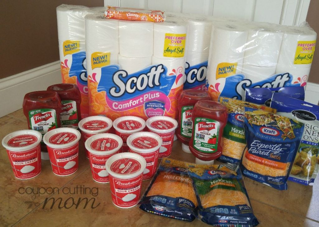 Giant Shopping Trip - 62% Savings On Bath Tissue, Sour Cream, Ketchup and More