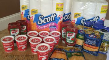 Giant Shopping Trip – 62% Savings On Bath Tissue, Sour Cream, Ketchup and More