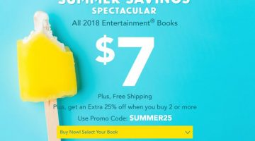 2018 Entertainment Books Only $7.00 (Reg. $35.00) + FREE Shipping