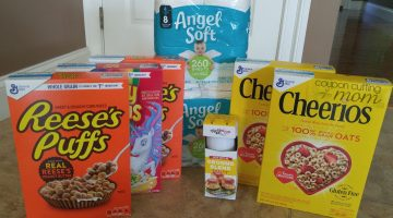 Giant Shopping Trip: $28 Worth of General Mills Cereal and More$1.35 Moneymaker