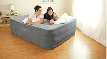 Intex Comfort Plush Airbed with Built-in Electric Pump ONLY$32.90 – Regular Price $59.50
