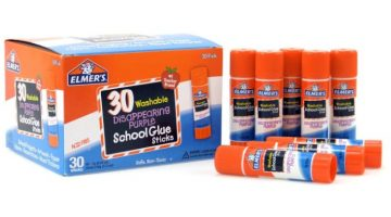 Elmer's Disappearing Purple School Glue Sticks 46% Off Regular Price