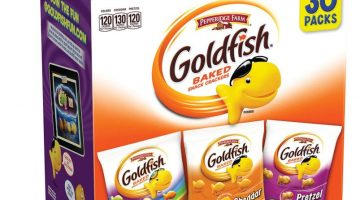 Pepperidge Farm Goldfish Variety Pack Classic Mix (30 Count) ONLY $3.50 – Regular Price $12.07