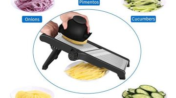 CaCaCook Stainless Steel Mandoline Slicer Only $9.99 – Regular Price $69.99