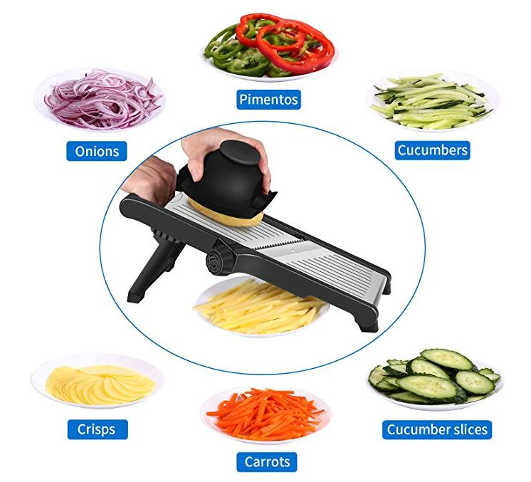CaCaCook Stainless Steel Mandoline Slicer Only $9.99 - Regular Price $69.99