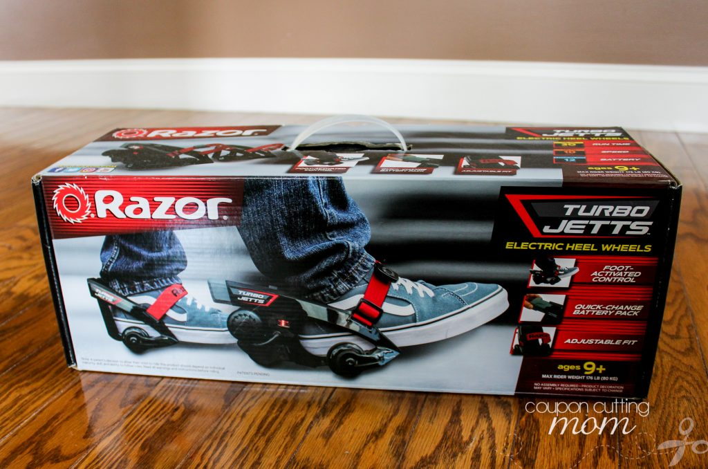 Razor Turbo Jetts Turn Any Sneakers Into Electrically Motorized Wheels