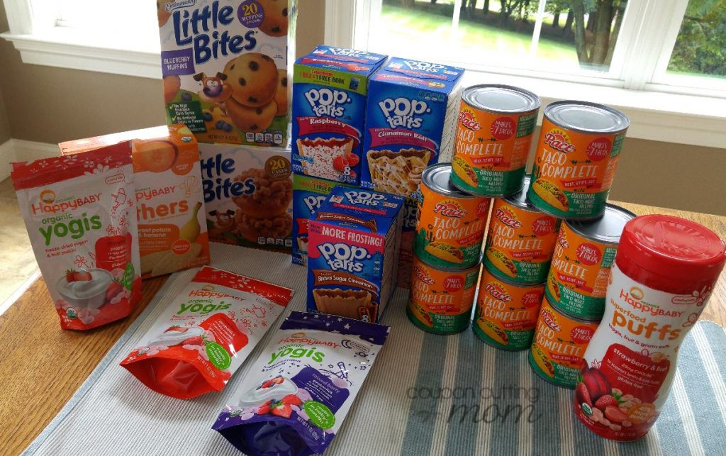 Giant Shopping Trip: $65 Worth of Pace, Happy Baby and More FREE + $1 Moneymaker