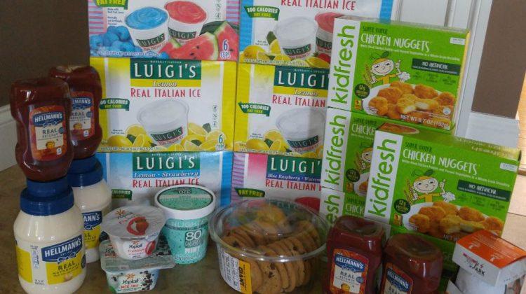 Giant Shopping Trip: $72 Worth of Kidfresh, Hellmann's Luigi's and More FREE+ $7.27 Moneymaker