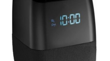 InsigniaVoice Smart Bluetooth Speaker and Alarm Clock 75% Off Regular Price