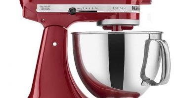KitchenAid Artisan Stand MixerONLY $208.00 (Reg. Price $429.99)