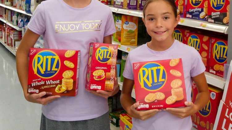 Save on RITZ Crackers with Ibotta + Walmart Gift Card Giveaway