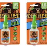 Gorilla Super Glue Gel (2 Pack) 52% Off Regular Price