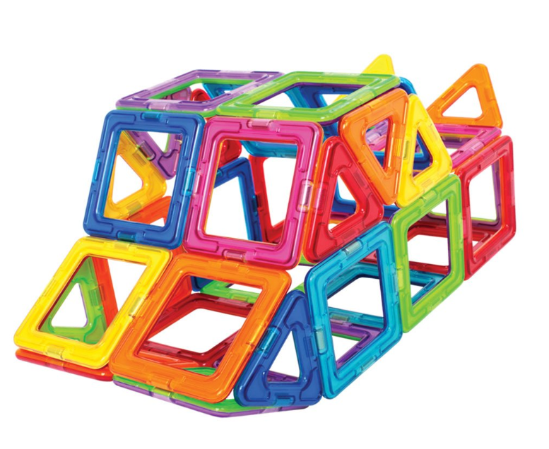 62 Piece Magformers Magnetic Building Blocks ONLY $39.99 - Regular Price $99.99