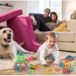 40 Piece Magnet Building Tiles Set ONLY $16.89 – Regular Price$49.99