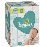 Pampers Sensitive Baby Wipes 576 Count Only $12.86