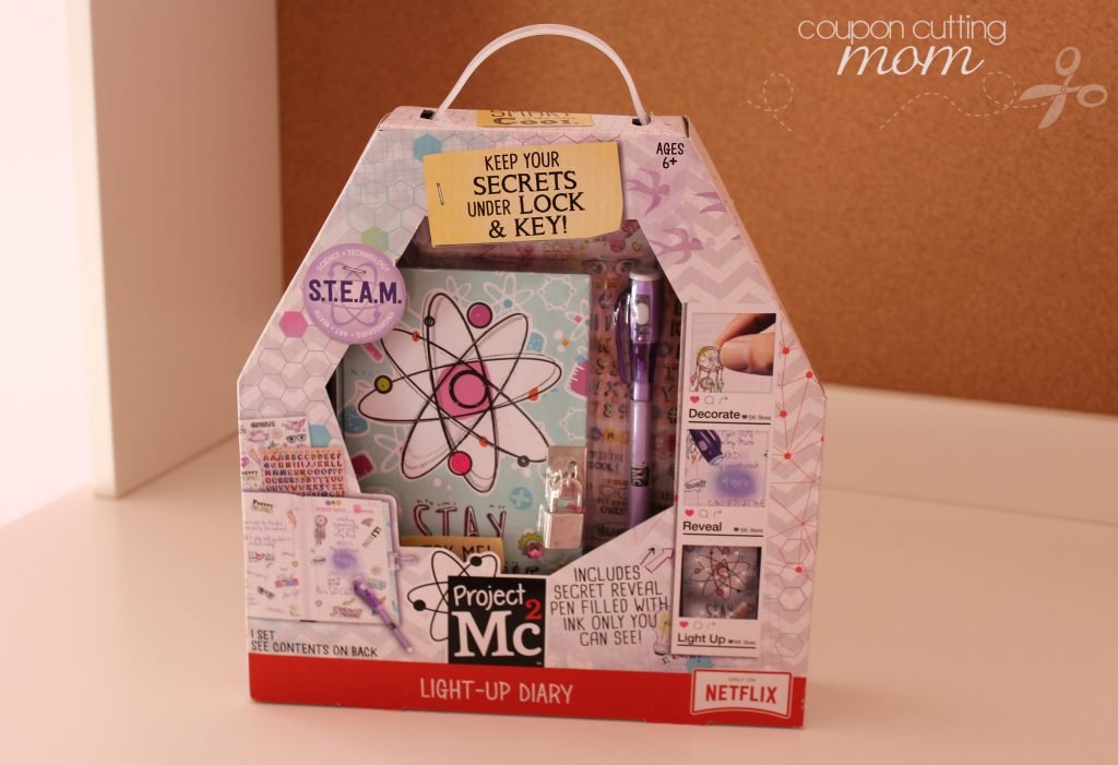 Keep Your Secrets Under Lock and Key With Project Mc2 Light-Up Diary