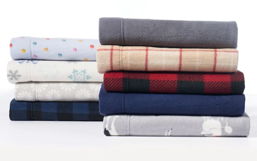 Cuddl Duds Fleece Sheet Sets ONLY $11.46 - Regular Price $49.99
