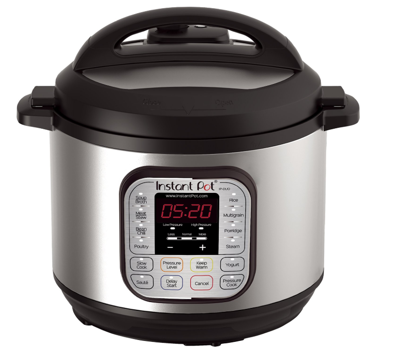 Instant Pot DUO80 8 Qt 7-in-1 Multi- Use Programmable Pressure Cooker ONLY $79.99 (Reg. Price $139.95)