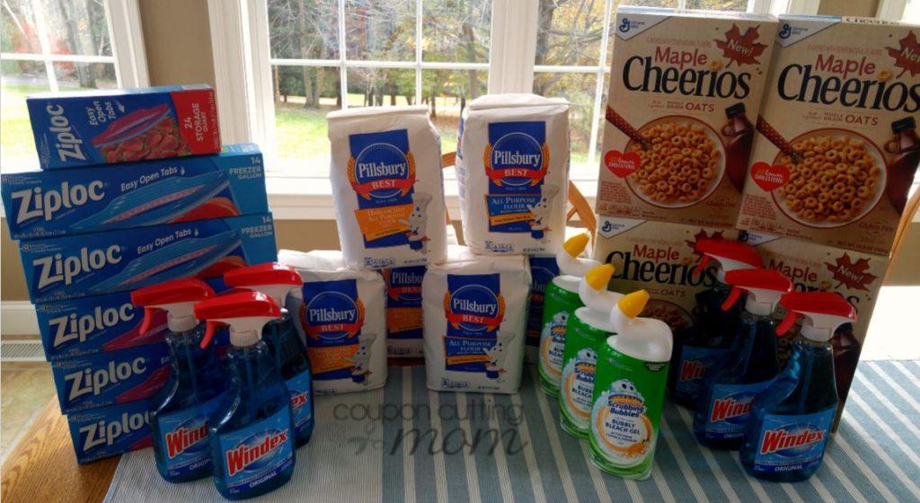 Giant Shopping Trip: $78 Worth of Pillsbury Flour, Ziploc Bags and More $4.49 Moneymaker