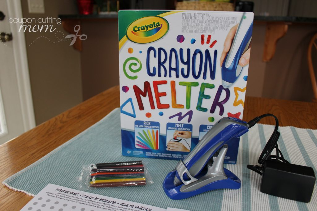 Create Colorful Creations With The Crayola Crayon Melter