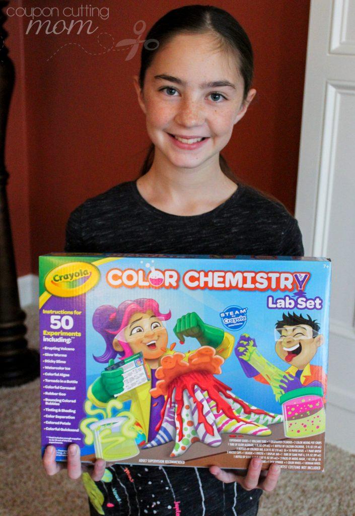 Crayola Color Chemistry Lab Set Provides Endless Imaginative Play
