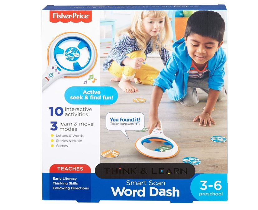 Fisher-Price Smart Scan Word Dash - 64% Off Regular Price