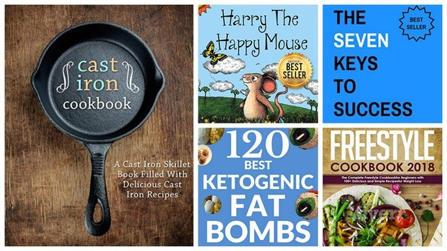 10 Free Kindle Books: Cast Iron Cookbook, Happiness 365 + More