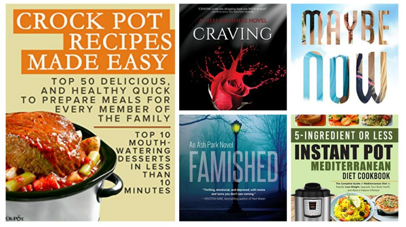 Free ebooks: Maybe Now, Crock Pot Recipes Made Easy + More Books