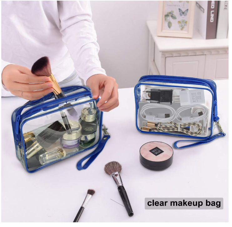 TSA Approved Cosmetic Bags Only $6.40 - Regular Price $10.66