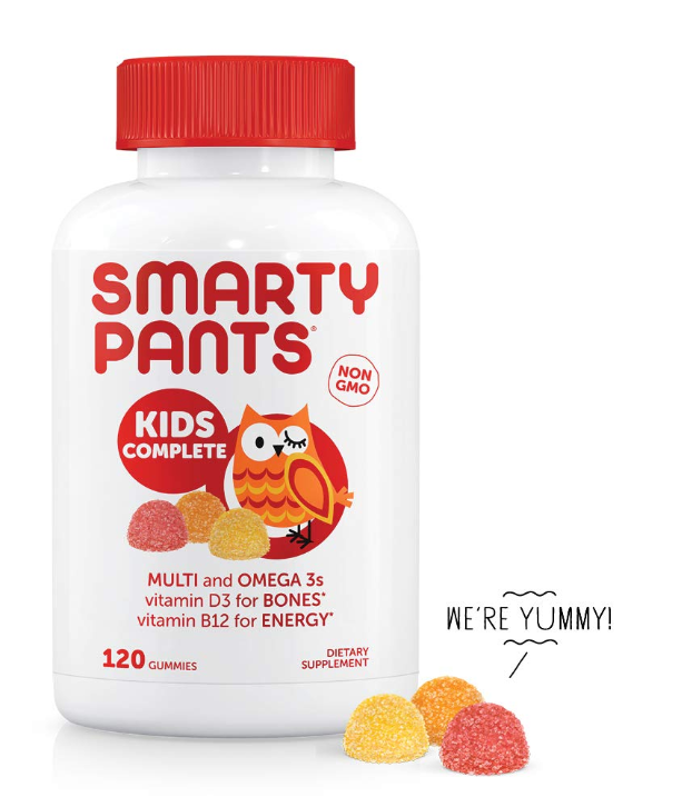 SmartyPants Kids Complete Daily Gummy Vitamins Only $8.58 (Regular Price $15.84)