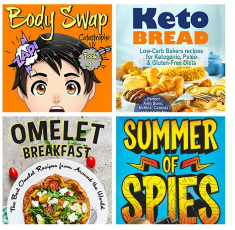 Free ebooks: Keto Bread, Omlet Breakfast + More Books