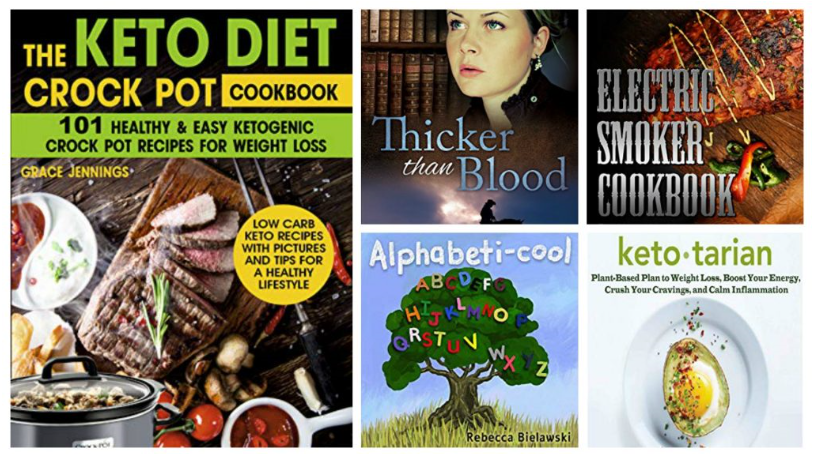 Free ebooks: Thicker Than Blood, Electric Smoker Cookbook + More Books