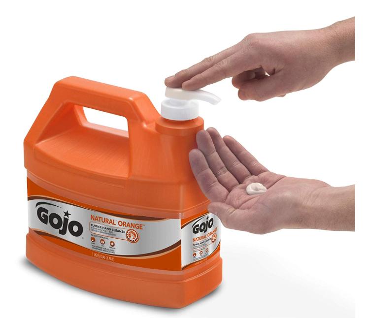 Gojo Natural Orange Pumice Hand Cleaner Only$12.79 - Regular Price $27.84