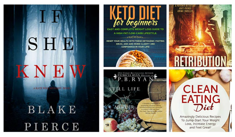 Free ebooks: Clean Eating Diet, One-Pot Cookbook + More Books