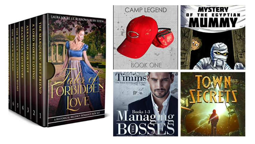 Free ebooks: Town Secrets, Brie's Submission + More Books