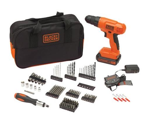 BLACK+DECKER 20V MAX Drill & Home Tool Kit Only $52.40 - Regular Price $79.99