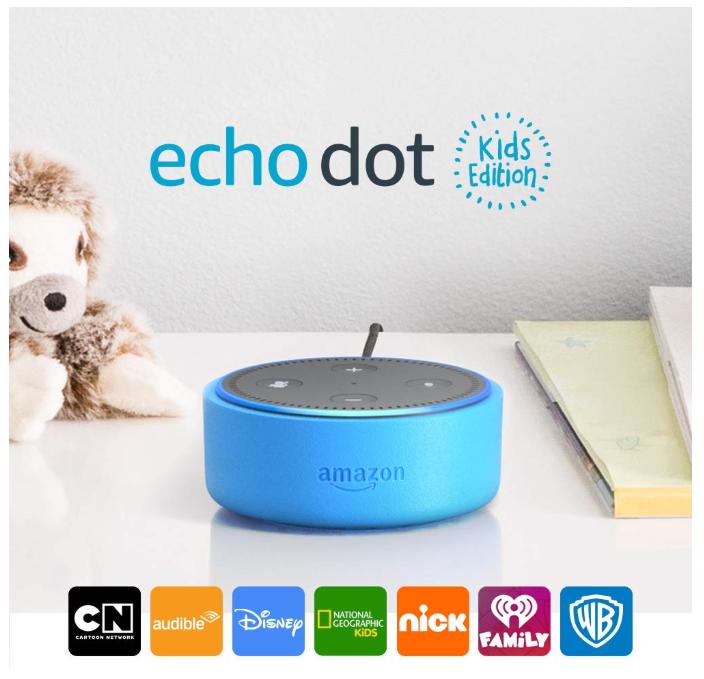 Echo Dot Kids Edition - 50% Off Regular Price