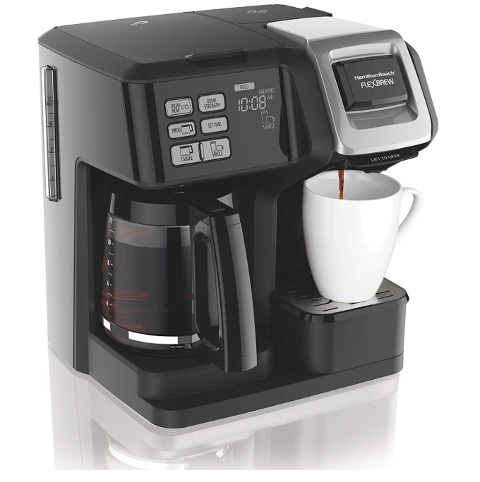 Hamilton Beach FlexBrew Coffee Maker Only $51.19 - Regular Price $99.99