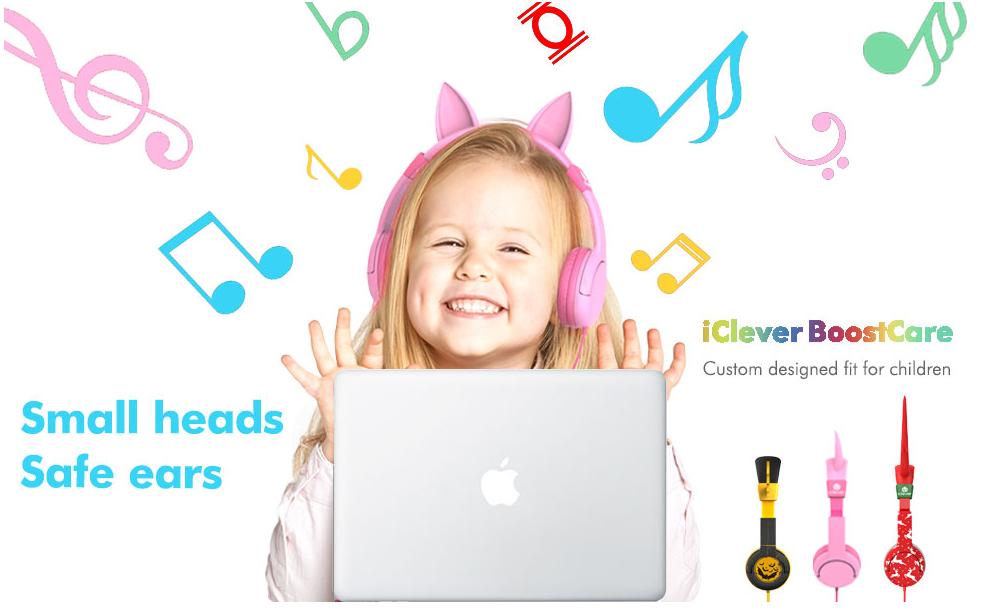 iClever BoostCare Kids Headphones - 82% Off Regular Price