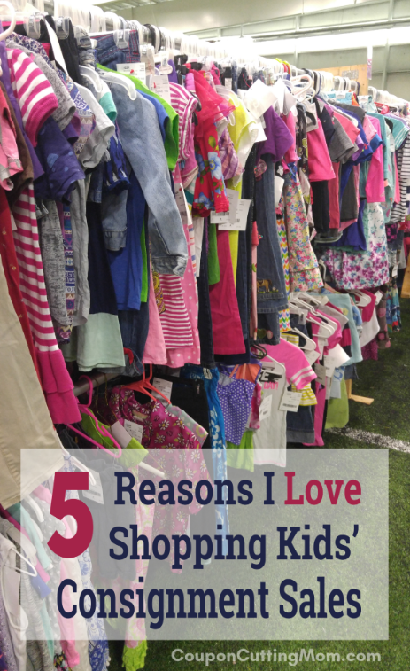 5 Reasons I Love Shopping Kids' Consignment Sales