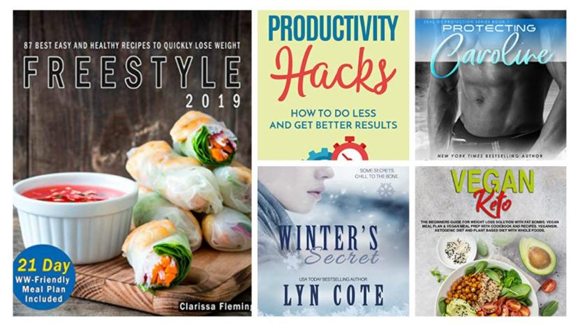 Free ebooks: Productivity Hacks, The Shop On Main + More Books