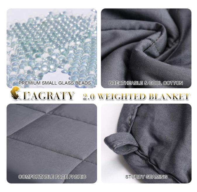 15 -Pound Weighted Blanket Queen Size - 50% Off Regular Price