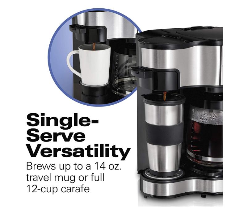 Hamilton Beach 2-Way Brewer Coffee Maker Only $36.99 - Regular Price $89.50