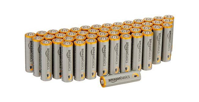 Extra 25% Off AmazonBasics Batteries - Great Prices on 9V, AA and More