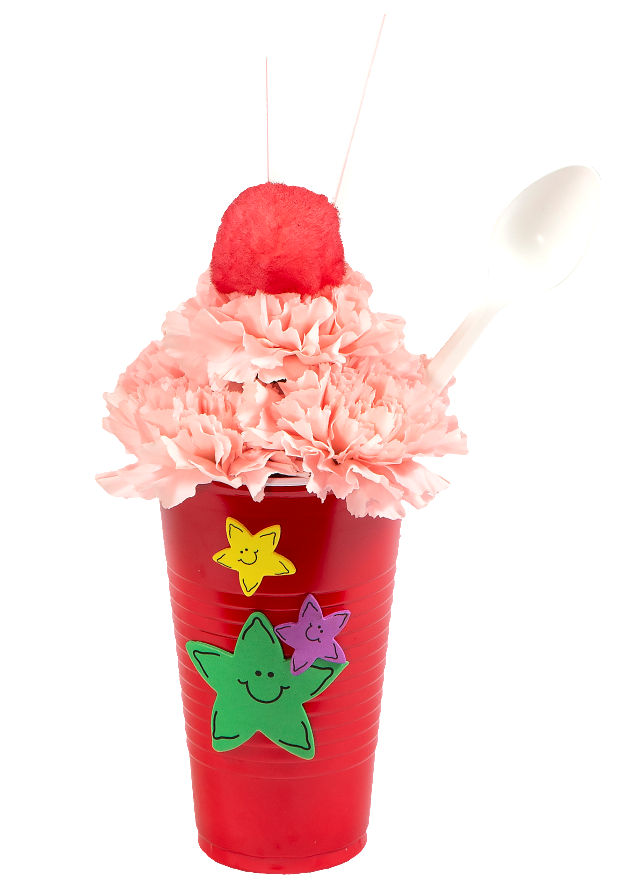 Royer's Kids Club Event Create Your Own FREE Flower Ice Cream Sundae