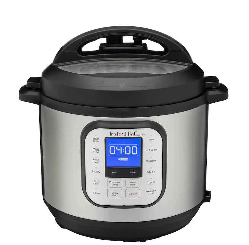 Instant Pot 8-Quart Programmable Pressure Cooker ONLY $61.49 (Reg. Price $149.99)