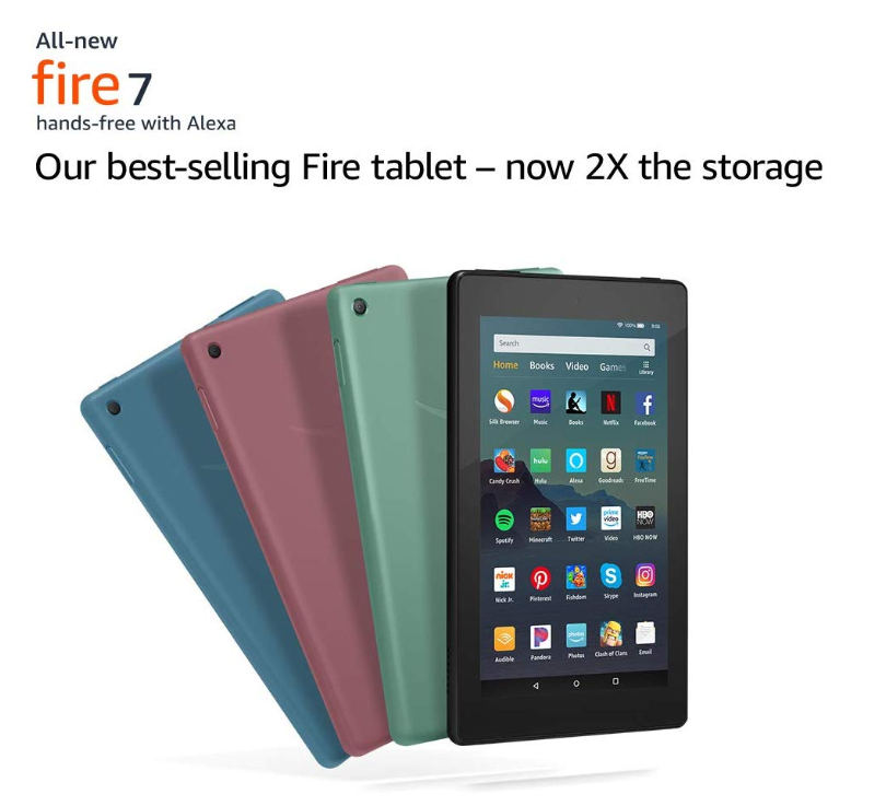 *HOT* Kindle Fire 7 Tablet ONLY $29.99 (Reg. Price $49.99)