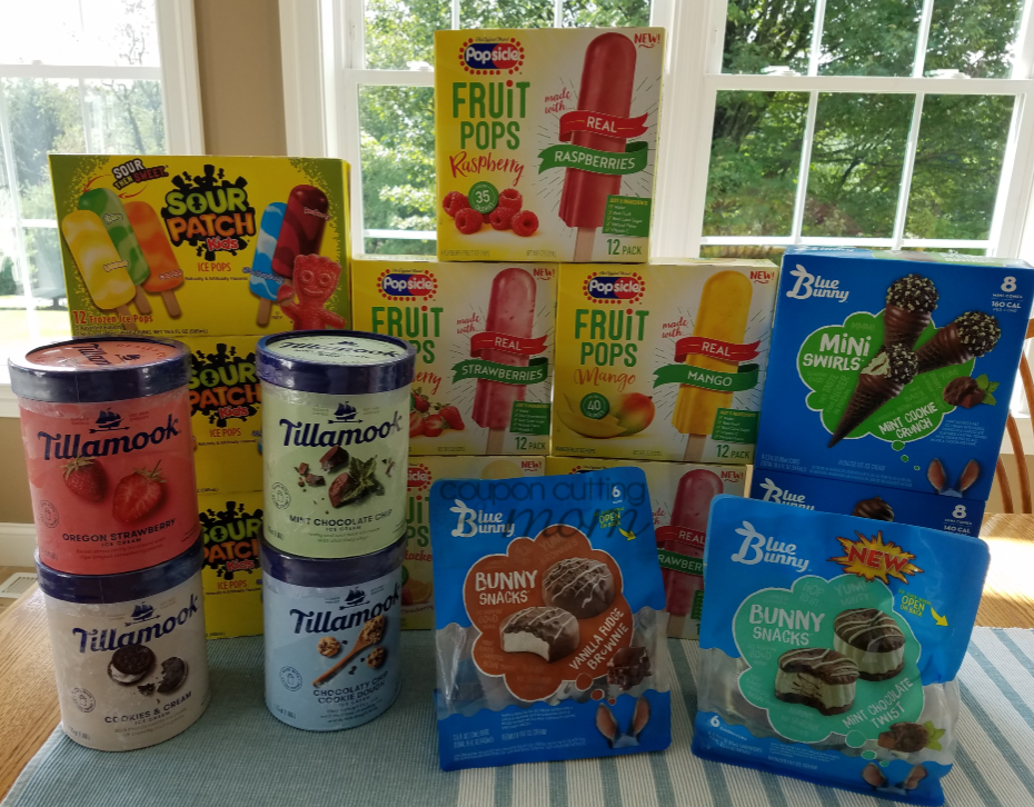 Giant Shopping Trip: $74 Worth of Tillamook Ice Cream, Popsicles and More FREE + $12 Moneymaker